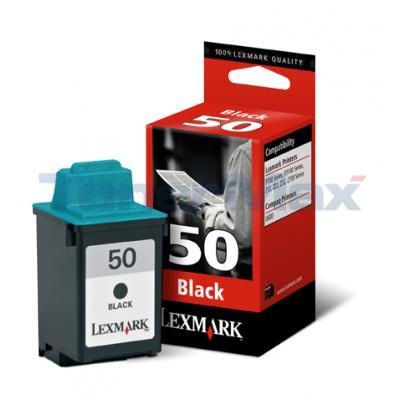 LEXMARK Z12 NO. 50 PRINT CART BLACK